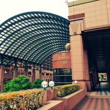 恵比寿駅からの道中(ガーデンプレイス)