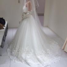 プリンセスラインのドレス☆