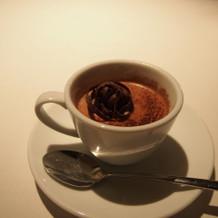 栗のカフェラテ