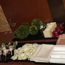 テーブルに置ける小物も多数有り