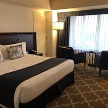 前日・当日宿泊したホテルのお部屋