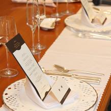 新郎新婦テーブル1