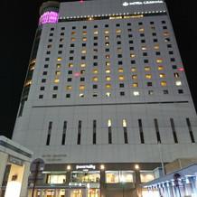 岡山有数のホテルです。