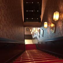 階段もアンティーク