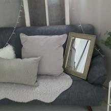 ペールダウンのソファ