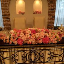 高砂装花例