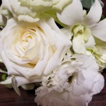 ゲストへ装花のプレゼント