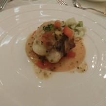 魚介と野菜のクレピーヌ