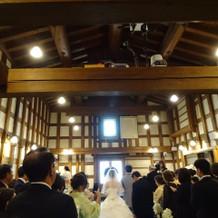 とても素敵な教会でした。