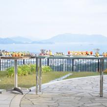 広島を一望できるガーデン