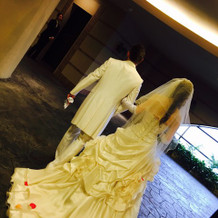 タキシード+ドレス2着は無料でした