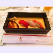 銀座久兵衛のお寿司