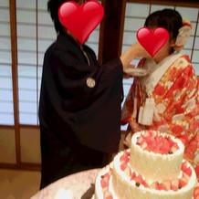 大きなケーキ