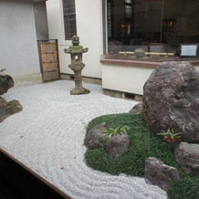 淀川亭の庭