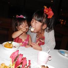 子供もおいしそうに食べてます