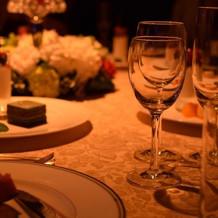 テーブル風景
