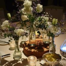 テーブル装花2