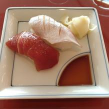 お凌ぎのお寿司