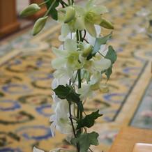 チャペルの花