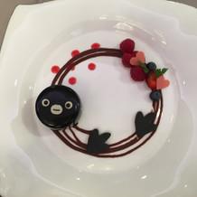 Suicaペンギンのデザート