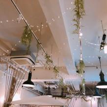 店内の天井