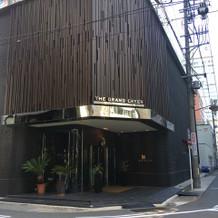 名古屋駅から歩くとこの入口につきました