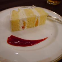 ケーキも完食しました!