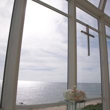 祭壇からの眺め