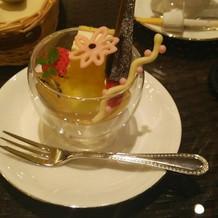 試食会 デザート