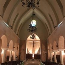 綺麗な教会です。