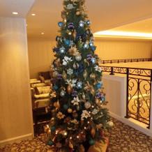 2階のツリー