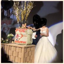 酒好きなので、ケーキの代わりに樽割り!