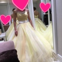 ベルみたいなドレスで綺麗だった