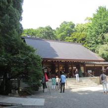 素敵な神殿です