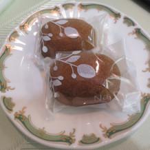 なつめのお菓子