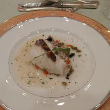 魚料理。和を感じる。美味しい!