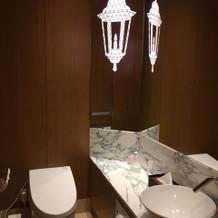 ブライズルームのお手洗い