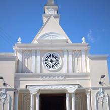 挙式を挙げる教会