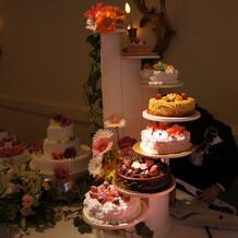 内覧会のケーキ