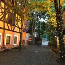 ヨーロッパのような雰囲気の建物です。
