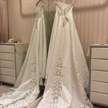 挙式のドレス