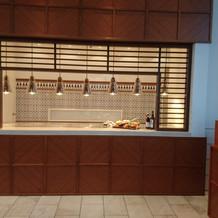 シャングリラルームのオープンキッチン