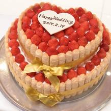 ウエディングケーキ♪