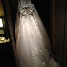 当日のドレス