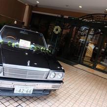 入り口に愛車( ^ω^ )