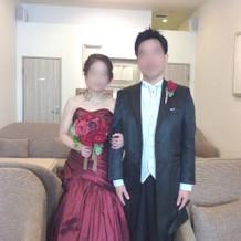 彼がとても気に入ったマーメイドのドレス