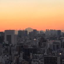 スカイツリーの反対側からは富士山が見えま