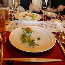 お箸で食べる季節感のある料理