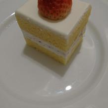 とっても小さなケーキ