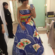 1番のこだわり振袖ドレス